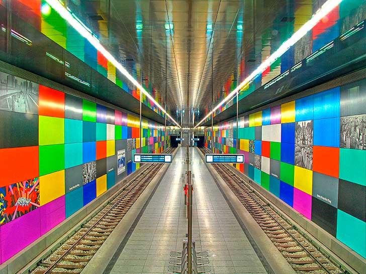 Estación Candidplatz, Munich, Alemania.