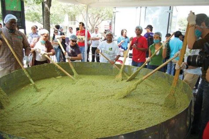 guacamole mas grande del mundo