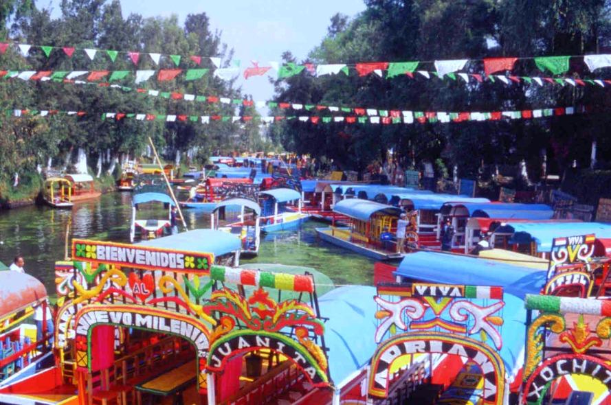 lago de xochimilco