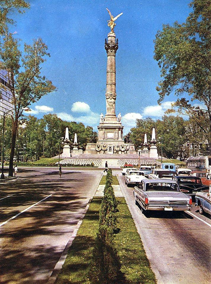 Ángel de la Independencia, 1960