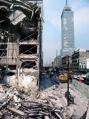 latino torre temblor