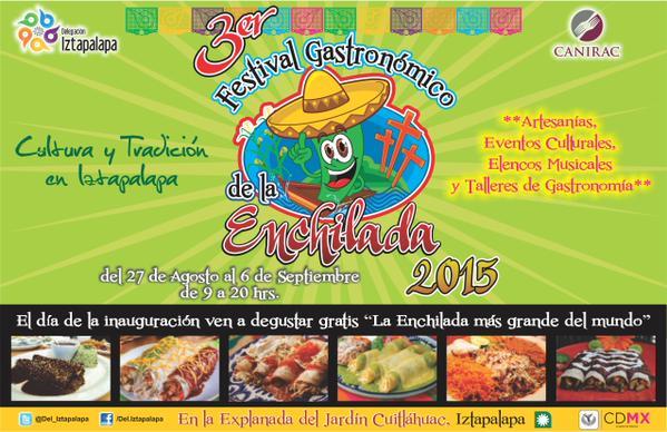 festival de la enchilada DF