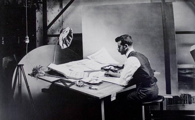 Autorretrato, 1900