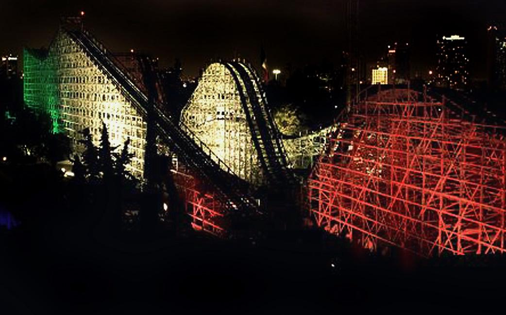 La Feria De Chapultepec Y Su Iconica Montana Rusa