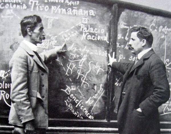 Manuel Mondragon y Felix Diaz