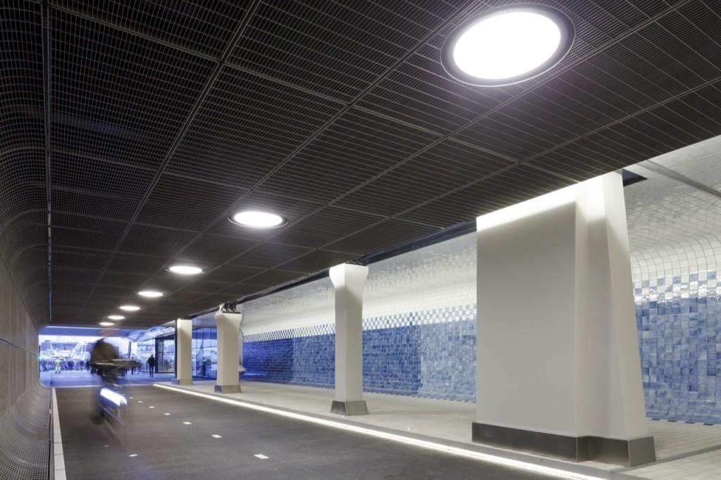 tuneles para ciclistas Cuyperspassage amsterdam 1