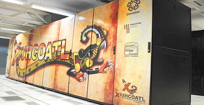Xiuhcoatl la supercomputadora delpoli