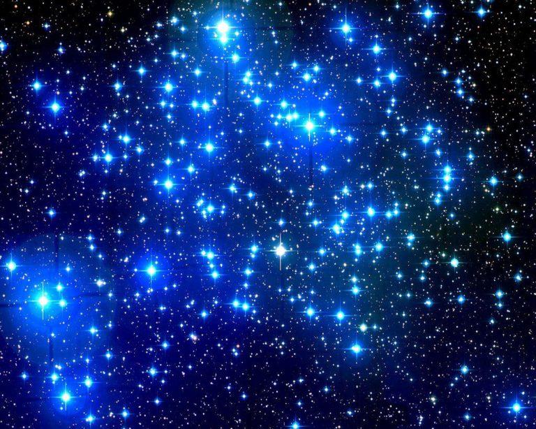 Guillermo Haro estrellas azules