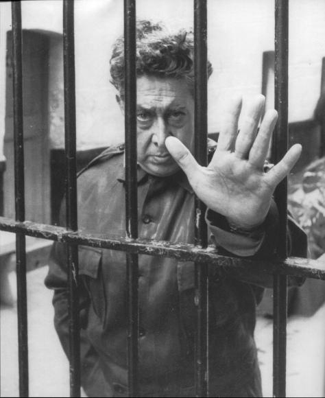 siqueiros en la carcel