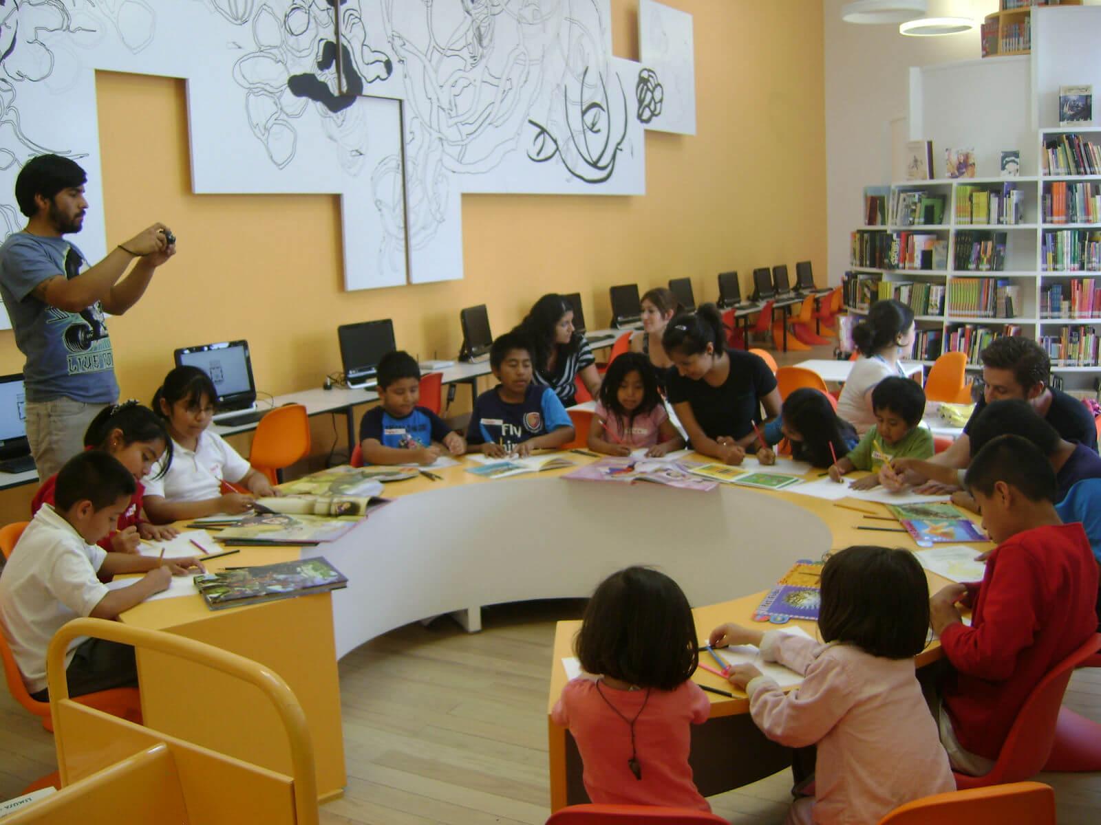 Sala infantil Biblioteca de Mexico