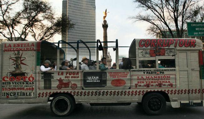 corruptour ciudad de mexico