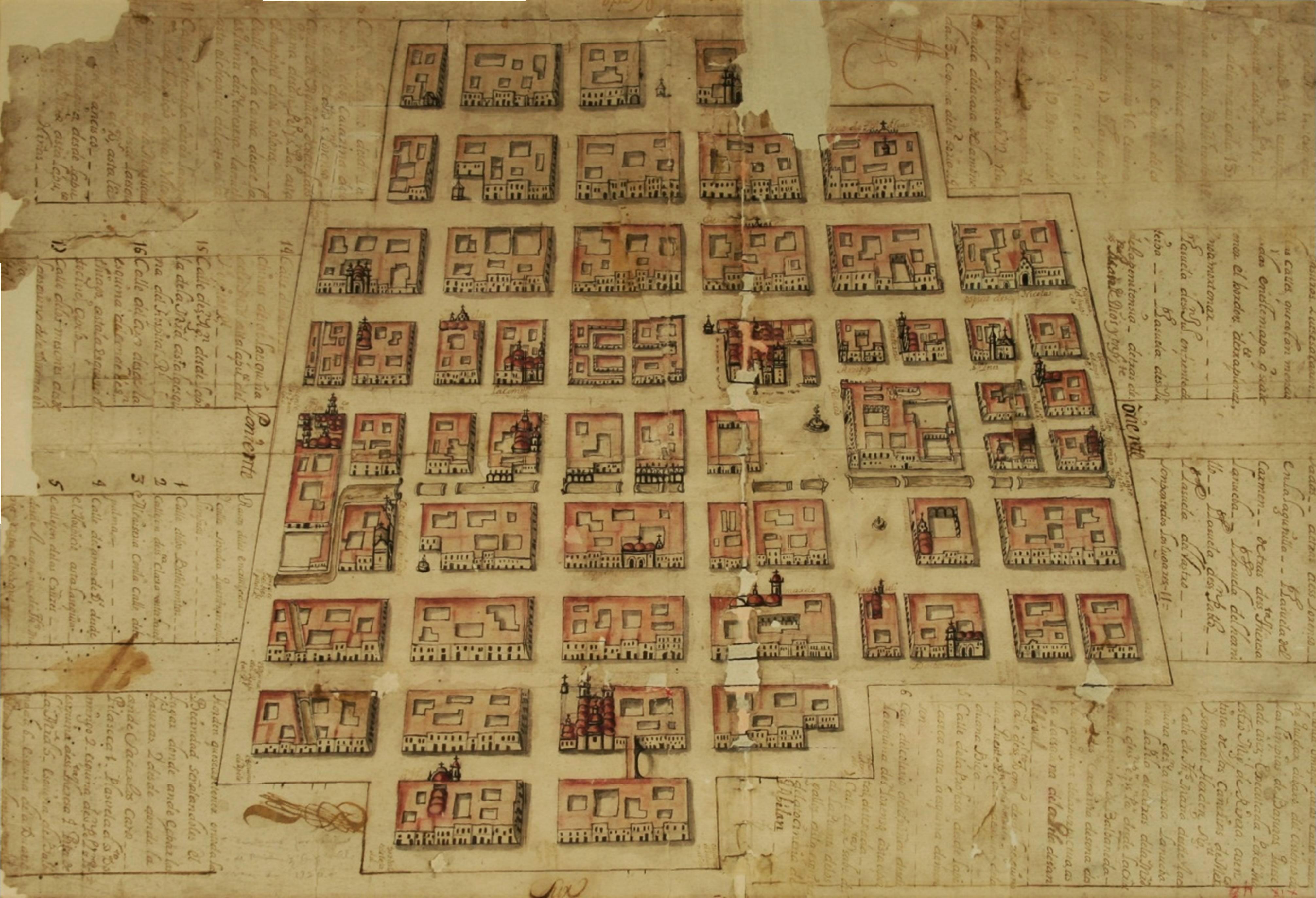 1720 Ciudad de México. Para recolección de la basura