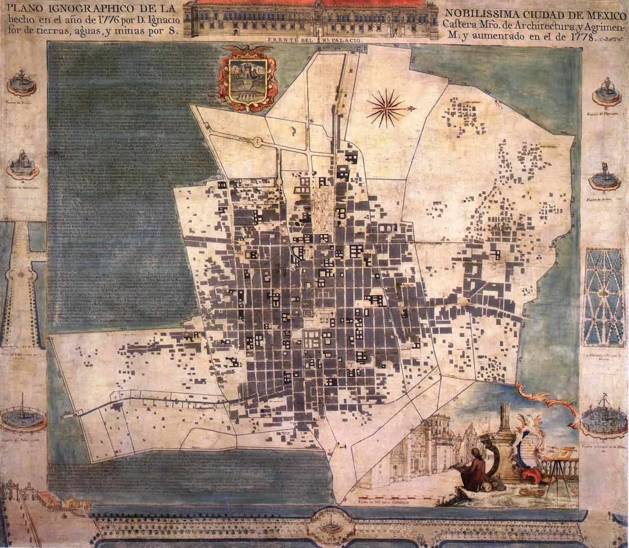 1776 Ciudad de México 1778 Casteramini