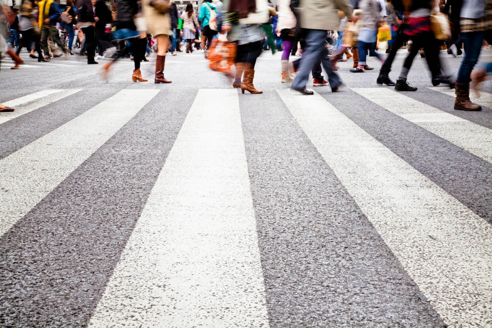 calles barrios peatonales caminables