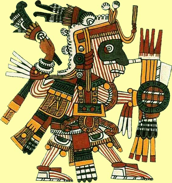 deidades mexicas