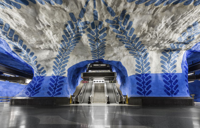 Estación T Centralen, Estocolmo, Suecia.