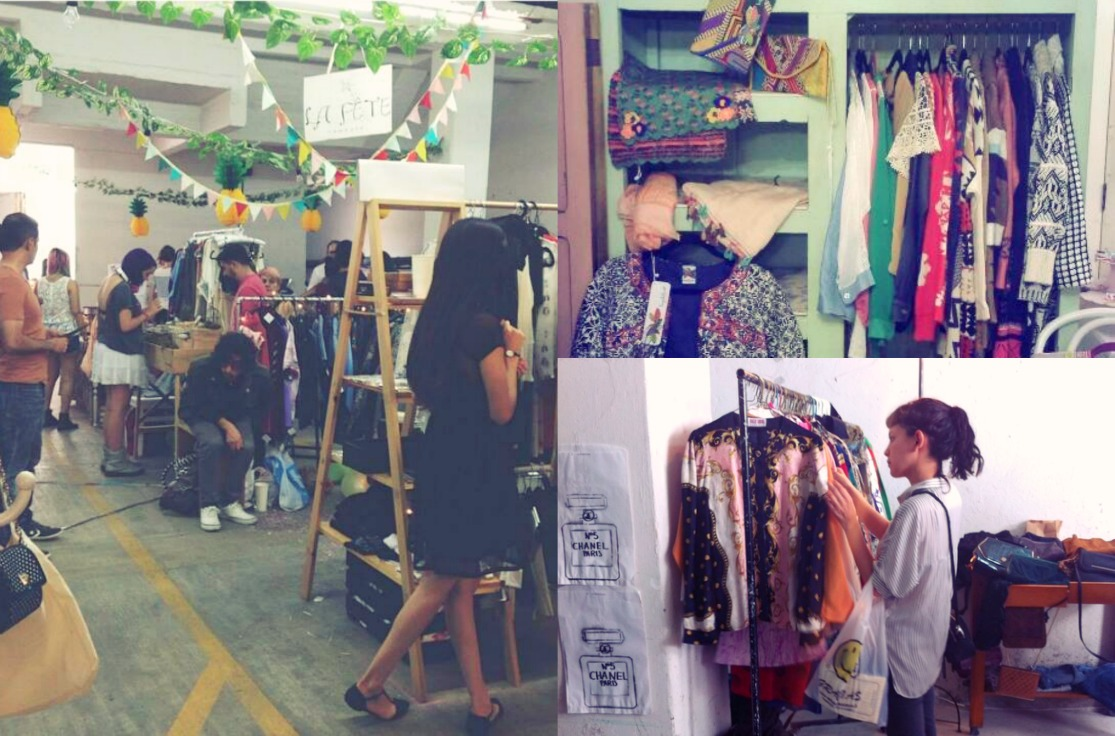 La Ciruela Bazar Collage