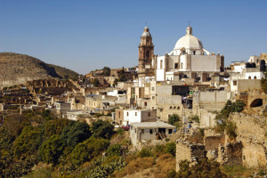 """Real de Catorce: Formerly a mining town and now a tourist hotspot located at the heart of the Catorce Hills, in the State of San Luis Potosí, North of Mexico. Better known as a """"Magic Village"""" and for its magical peyote ceremonies."""
