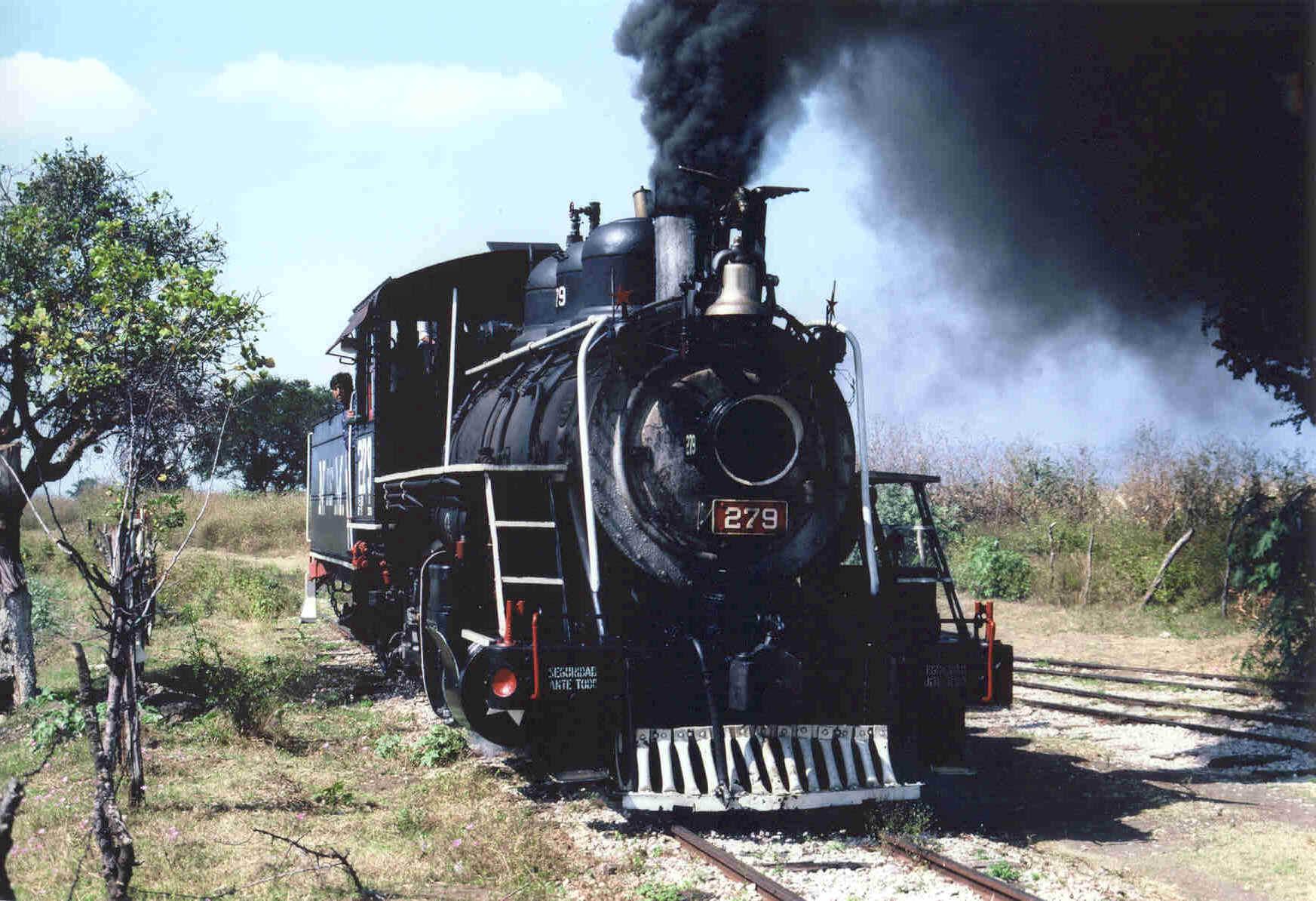 Acervo Histórico De Los Trenes Que Han Habitado En La Ciudad