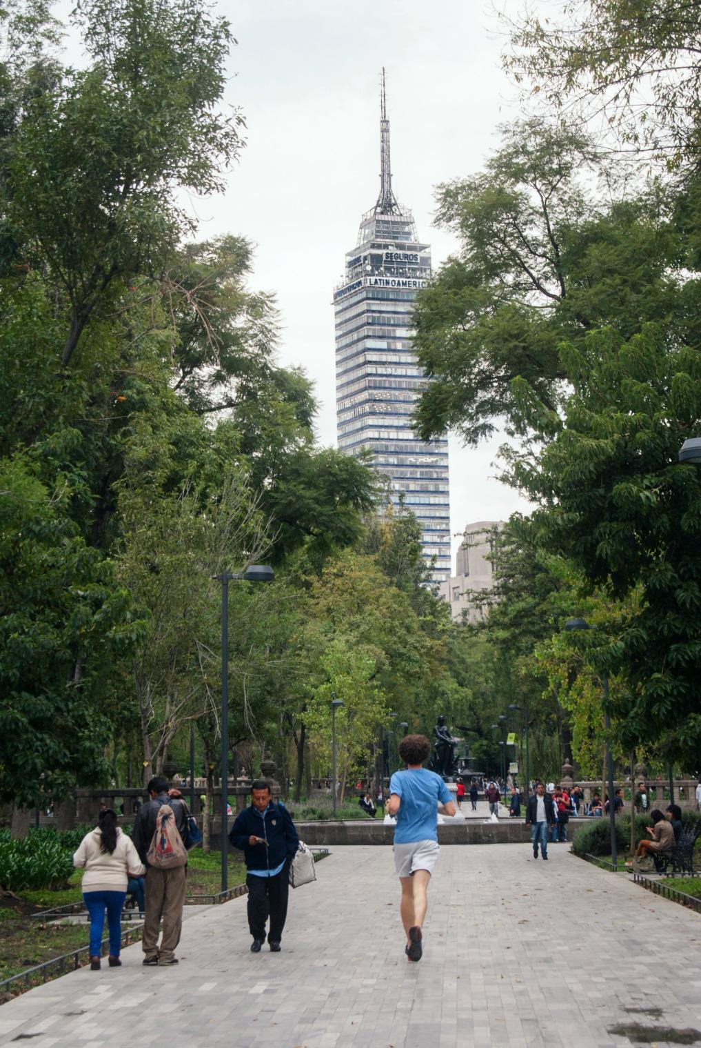 Alameda central mx city
