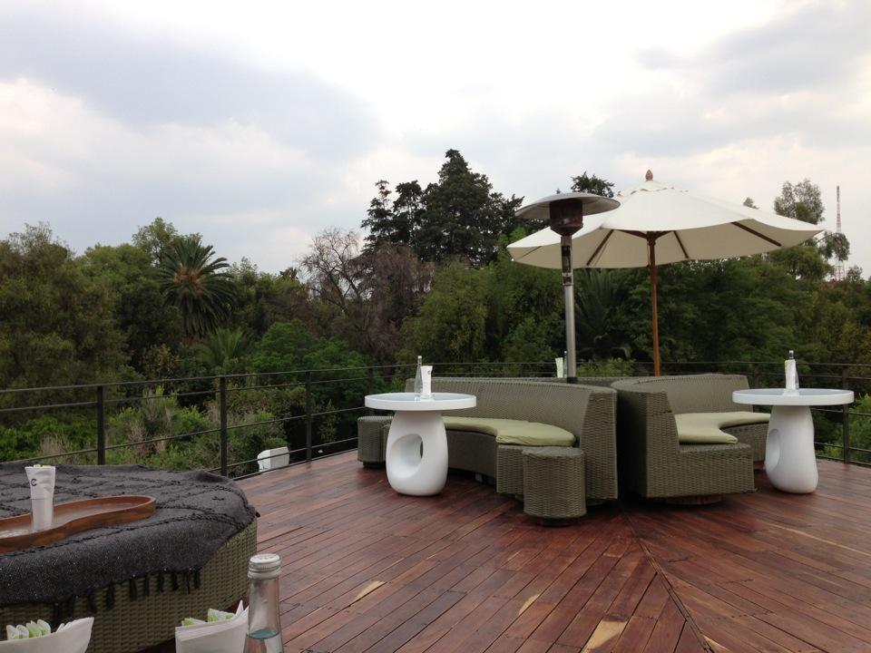 10 terrazas para comer en el df chilangu a for Terraza dela casa
