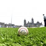 béisbol en el zócalo