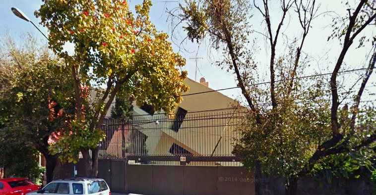 casa chueca de Villa Coapa