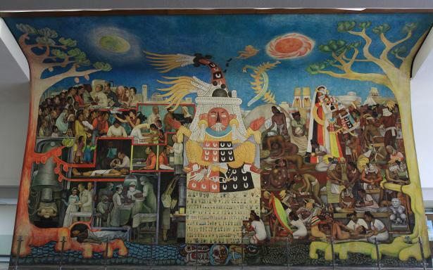 La Historia De La Medicina En Los Impresionantes Murales Del Imss
