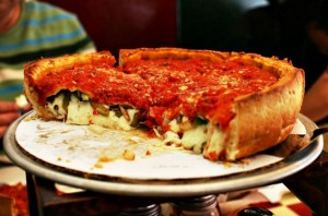 pizzas estilo chicago