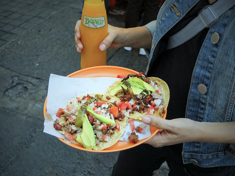 Tacos de Los Rogasianos, colonia Roma