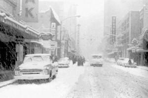 El día que nevó en la Ciudad de México