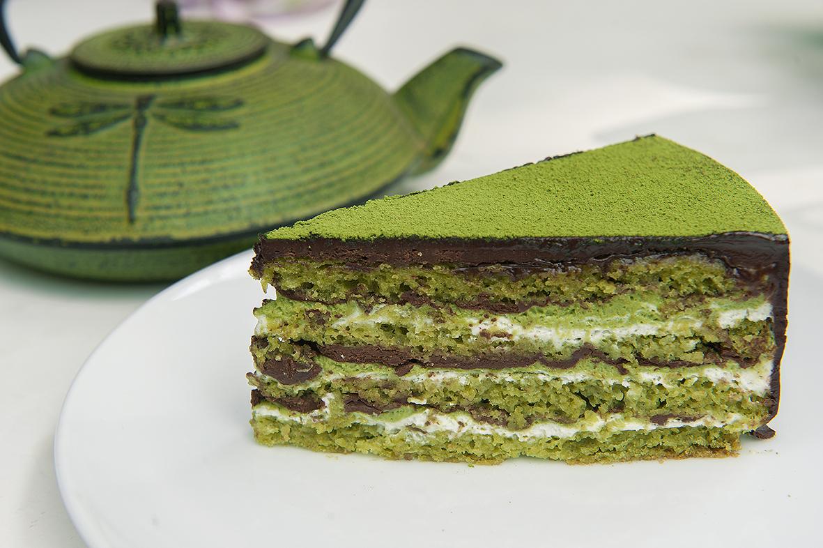Lugares para comer postres preparados con té verde o matcha