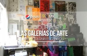 galerías de arte en la colonia Escandón
