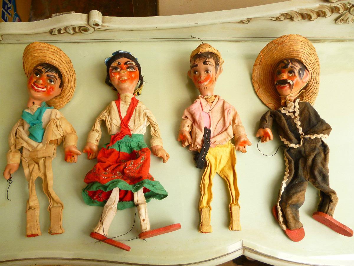 Titeres Mexicanos Mxcity Gu & 237a De La Ciudad M & 233xico