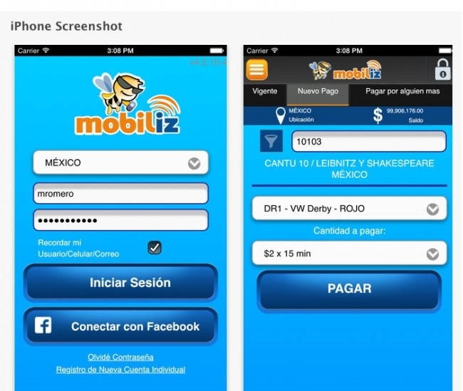 Mobiliz, Apps Mexicanas screenshot