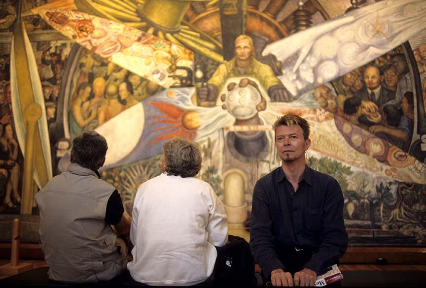 david bowie diego rivera
