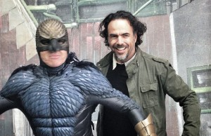 Birdman-Alejandro González Iñarritu y Michael Keaton