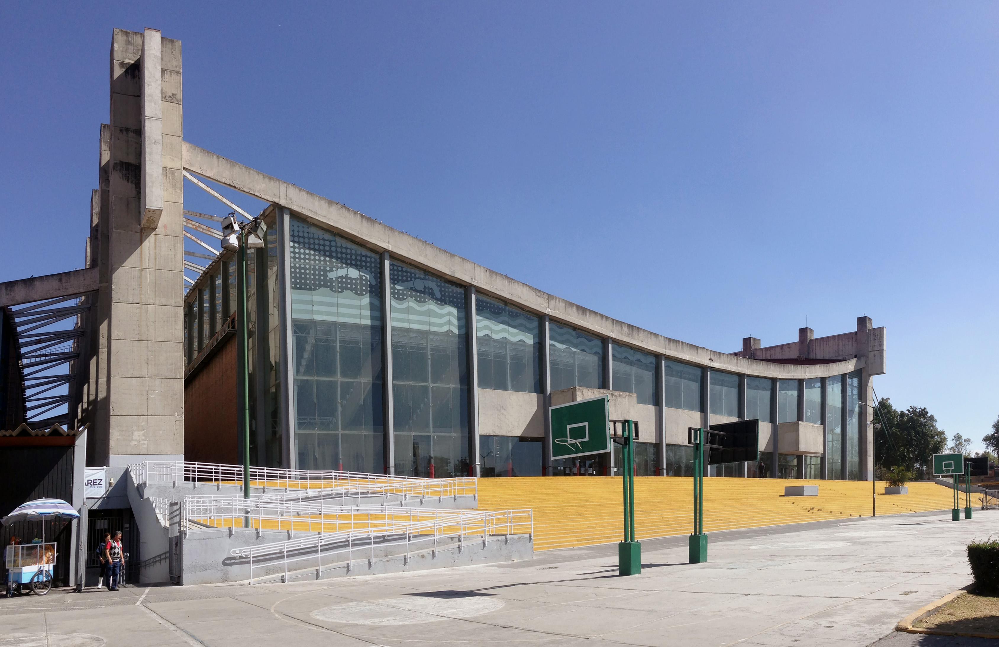 Alberca y gimnasio ol mpicos estructuras que hacen for Estructuras arquitectonicas