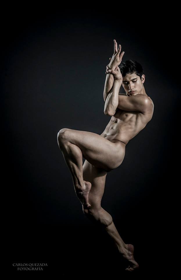 The Male Dancer Project. Alan Ramírez :: México. Freelance Dancer. Fotografía Carlos Quezada.