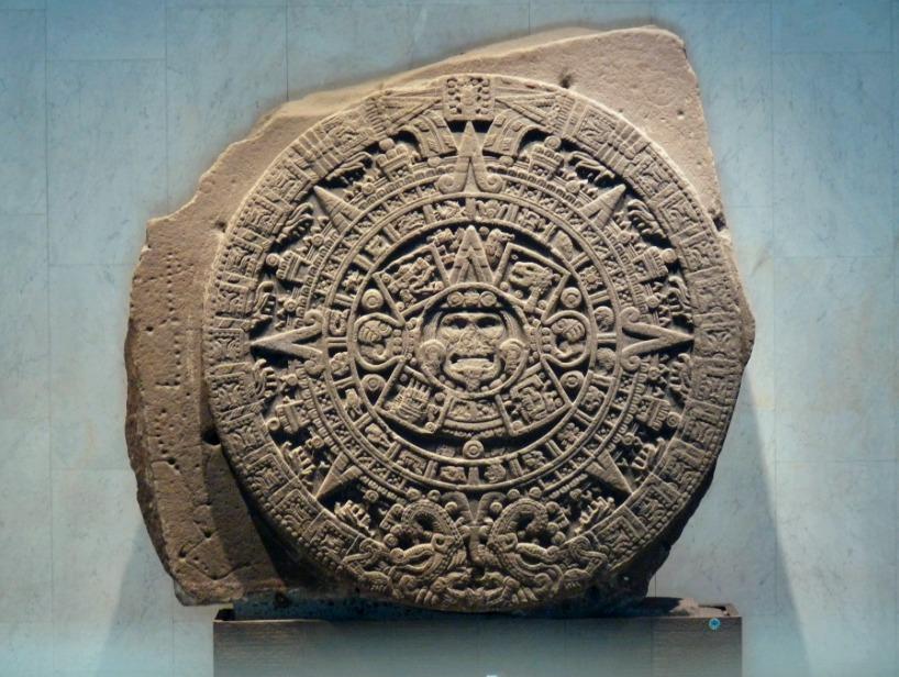 calendario azteca museo de antropologia e historia