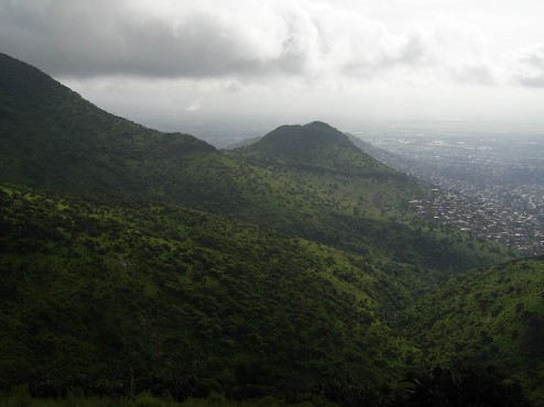 Forma parte de la Sierra de Guadalupe.