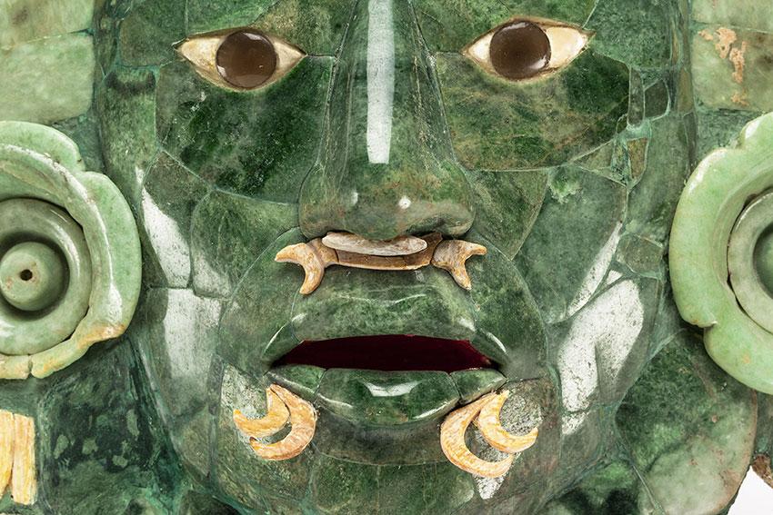 mascara de calakmul