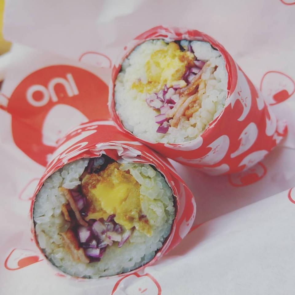 oni roma norte sushi burritos