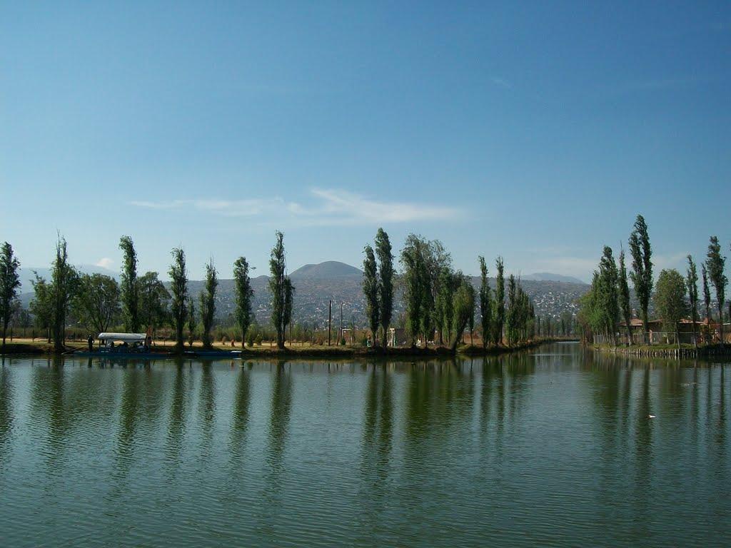 Lago de los Reyes Aztecas-