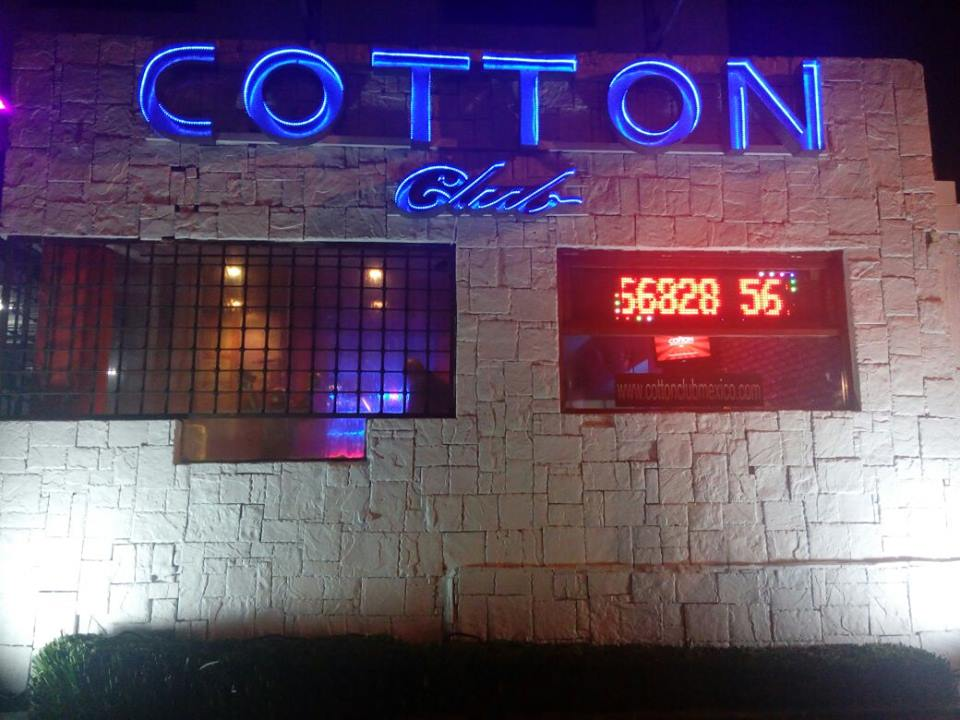 cotton club mx