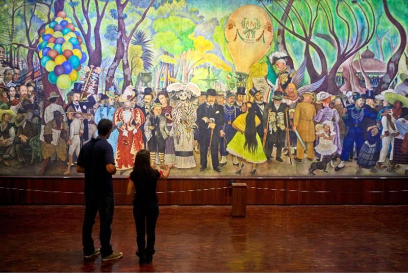 Murales Representativos De Diego Rivera