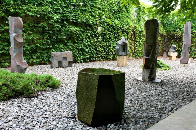 Museo Noguchi jardin