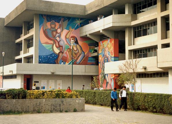 Mural de Arnold Belkin en la UAM