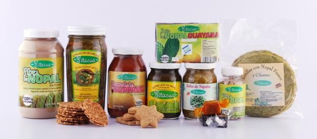 productos con nopal