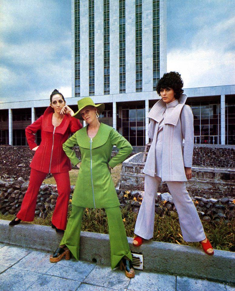 La moda a inicios de los años 70's